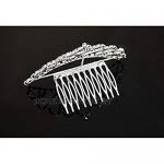 OKMIJN Rhinestone With Hair Clip Girls Hair Accessories Grid Accessories Crown Kids Ribbon Hair Clips
