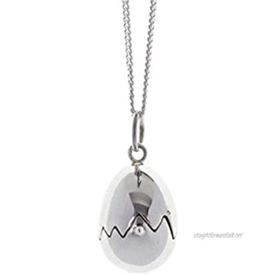 Lily Blanche Women Necklace Charming Chick Locket Designed in Britain