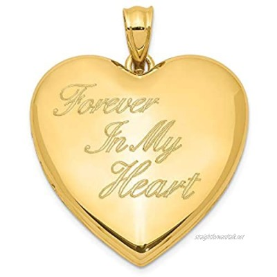 Sterling Silver Gold-tone Forever In My Heart Ash Holder Heart Locket for Women