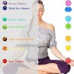 7 Chakra Bracelet - Natural Stone Healing Reiki Yoga Bracelet for Women & Men for Anxiety Relief Adjustable Bracelet to Fit Any Wrist