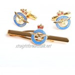 Duchemins Military Supplies Royal air Force Cufflink and Tiebar Giftset RAF giftware and Accessories