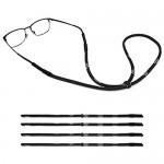 MoKo Glasses Strap [4 Pack] Universal Fit Rope Sports Adjustable Sunglasses Retainer Holder Strap Eyeglass Elastic Strap Safety Glasses Holder for Men Women
