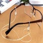 qingqingR Transparent Eyeglasses Anti Slip Strap Stretchy Neck Cord Outdoor Sports Eyewear String Sunglasses Rope Band Holder