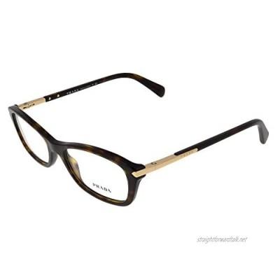 Prada PR 04PV Glasses in Havana PR 04PV 2AU1O1 52