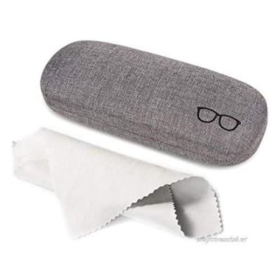 Kono Hard Shell Eyeglasses Case Portable Protective Case for Glasses and Sunglasses Storage