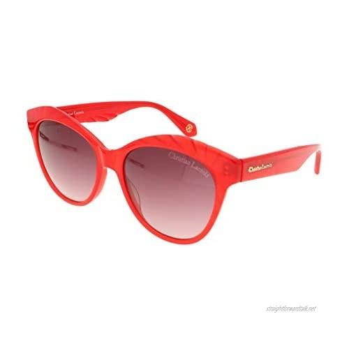 Christian Lacroix Women's Cl5063-277 Sunglasses Red Tamaño: 54/15/140