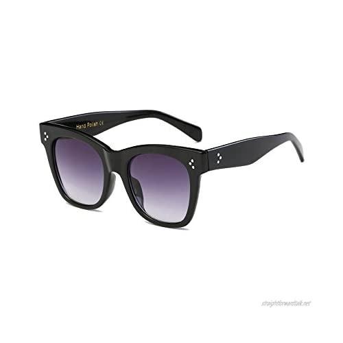 PINKLADY®-Designer Celebrity Oversized Square Cat Eye Retro Vintage Women Ladies Sunglasses Hand Polish